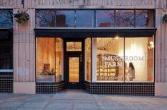 Olson Kundig Architects, citylab7, mushroom farm storefront, urban farming, community project, community farm, city agricultural production,...