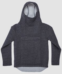 Anorak style never goes out of fashion. This piece is classic and modern, heavy and light at the same time. Heavy And Light, Going Out, Concrete, January, Turtle Neck, Hoodies, Classic, Fabric, Sweaters