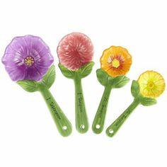 Wildflower Measuring Spoons