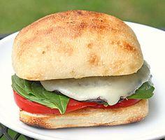 Grilled Portobello Sandwich: A different spin on the portbello recipe found on the Web Chef Cookbook (Vol. 2).