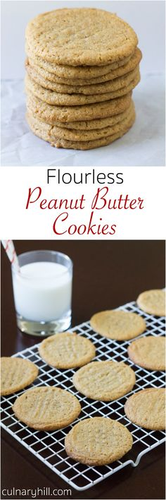 These gluten free treats have all the best flavors that go into a peanut butter cookie without the flour!