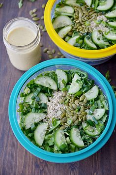 Green Goodness Detox Salad