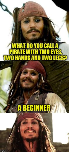 18 Johnny Depp Meme to enjoy and share with friends and families. Really Funny, Funny Cute, Hilarious, Johnny Depp Meme, Mermaid Jokes, Dad Puns, Funny One Liners, Funny As Hell, Dumb Jokes