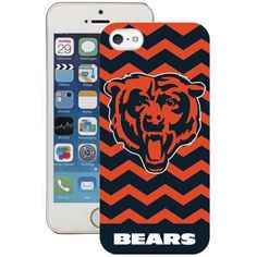 Accessorize your iPhone 5 with this chevron Chicago Bears case.