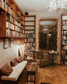 Book Cafe, Krakow, Bookshelves, Furniture, Home Decor, Happy, Bookstores, Bibliophile, City