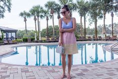 Summer #linen in the FL heat! #linendress #colorblock #fashion #tjmaxx