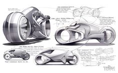 Daniel Simon Cosmic Motors: Spaceships, Cars and Pilots of Another Galaxy http://danielsimon.com/ Tron Legacy
