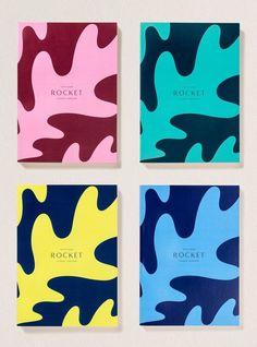 Rocket by Here Design, United Kingdom. #branding #print