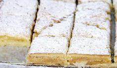 La meilleure recette de Carrés fondants au citron! L'essayer, c'est l'adopter! 5.0/5 (2 votes), 5 Commentaires. Ingrédients: 110g de beurre 230g de sucre 150g de farine 1/2 cuillère à café de sel 2 oeufs jus de 2 citrons sucre glace