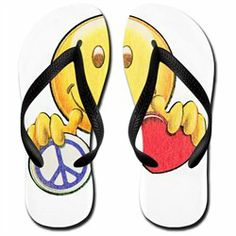 #Artsmith Inc             #ApparelFootwear          #Men's #Flip #Flops #(Sandals) #Vintage #Smiley #Face #Holding #Heart #Peace #Symbol #Sign              Men's Flip Flops (Sandals) Vintage Smiley Face Holding Heart and Peace Symbol Sign                                                http://www.snaproduct.com/product.aspx?PID=7033475