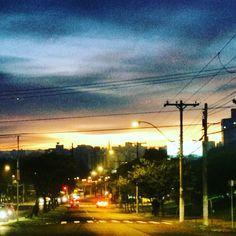 Porto Alegre ao Amanhecer hoje na Plinio Brasil Milano