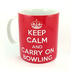 Keep calm and carry on bowling gift mug #present lawn game balls #boules #tenpin ,  View more on the LINK: http://www.zeppy.io/product/gb/2/350772971142/