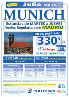 MUNICH, Estancias de Martes a Jueves, salidas 15, 22 y 29 de Julio dsd Mad (3d/2n) p. final 480€ ultimo minuto - http://zocotours.com/munich-estancias-de-martes-a-jueves-salidas-15-22-y-29-de-julio-dsd-mad-3d2n-p-final-480e-ultimo-minuto-2/