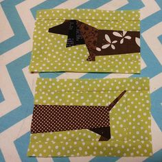 Doxie Zippy - Play Crafts - really cute!