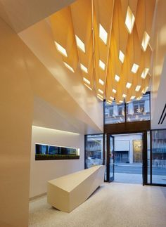 'Lightfold' by IwamotoScott Architecture at One Kearny Lobby was the Honor Award recipient in AIA SF 2013 Design Awards