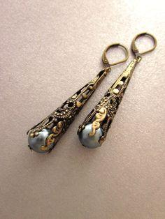 art nouveau earings...
