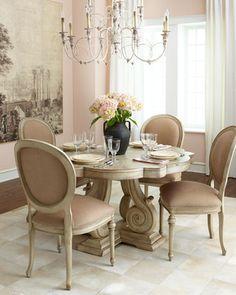 Horchow Carol Dining Furniture on shopstyle.com