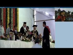 Video Conferencing Event - NALSAR University Of Law Live Convocation 201...
