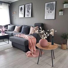 Classy Living Room, Living Room Decor Cozy, Living Room Grey, Living Room Interior, Home Living Room, Interior Livingroom, Apartment Interior, Apartment Living, Cozy Apartment