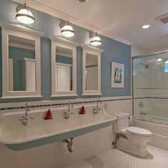 Childrens bathroom - traditional - bathroom - san francisco - Design Savvy