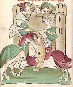 'Virginal' — Hagenau - Werkstatt Diebold Lauber, um 1444-1448 Cod. Pal. germ. 324 Folio 316v