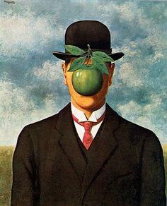 René Magritte - Son of Man