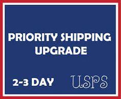 Upgrade shipping to priority mail by Sototallyprincess on Etsy,