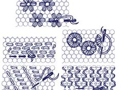 Illustrated Cross stitch, Needlecraft and Embroidery glossary. Section D: Daisies to Dutch Stitch Tambour Embroidery, Crewel Embroidery Kits, Paper Embroidery, Cross Stitch Embroidery, Embroidery Patterns, Machine Embroidery, Embroidery Supplies, Embroidery Techniques, Cross Stitching