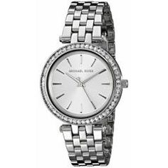 Shop for Michael Kors Women's Stainless Steel Quartz Watch - Silver. Get free delivery On EVERYTHING* Overstock - Your Online Watches Store! Womens Fashion Casual Summer, Womens Fashion For Work, Boots Christmas Gifts, Sneakers Fashion Outfits, Winter Fashion Boots, Stylish Watches, Classic Style Women, Michael Kors Watch, Bracelet Watch