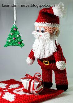 Ravelry: Santa Claus amigurumi pattern by MaryJ Handmade