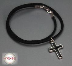 #Kette für #Jungen mit #Kreuz Nr. 1  von TANBI-kids auf DaWanda.com