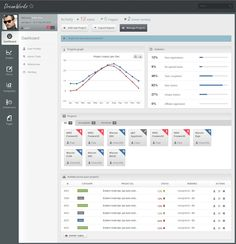 Admin Template #dashboard