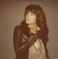 Cobie Smulders--apparently, my look-alike. Either way, I love this jacket.