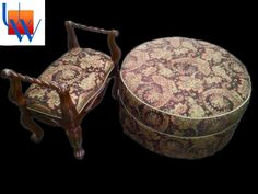 Footstool And Ottoman By Upholstery Works. Las Vegas, NV Http://www