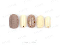 ニットネイル Esnail, Nail Arts, Japan, Sweater, Okinawa Japan, Jumper, Nail Art Tips, Pullover, Nail Art