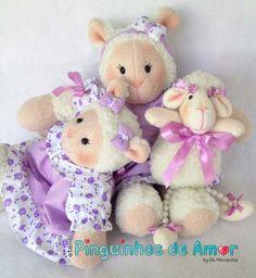 Ovelhas para Nicho/decoração para quarto de bebê