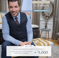 The Stearns and Foster Ultimate Bedroom Giveaway - #Win a Stearns & Foster Special Edition Reserve Queen Size Mattress and $1000 Cash from #HGTV