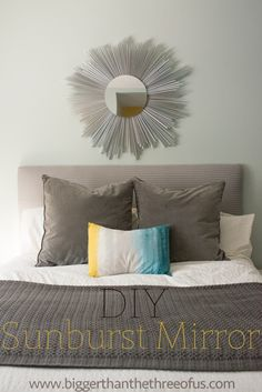 Sunburst Mirror  •  Free tutorial with pictures on how to make a starburst mirror in under 120 minutes