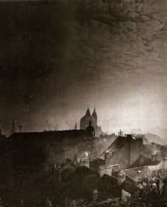 Night Prague by Jiří Všetečka