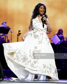 Aretha Franklin performs during the 2017 Tribeca Film Festival Opening Gala premiere of 'Clive Davis: The Soundtrack of our Lives' at Radio City Music Hall on April 19, 2017 in New York City.  (Photo by Taylor Hill/Getty Images)