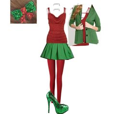 """""""Christmas"""" by loverocknroll on Polyvore"""