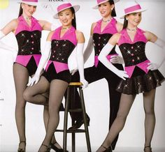 Costume design for musical theater or jazz. Club Outfits, Dance Outfits, Jazz Costumes, Figure Skating Dresses, Costume Dress, Costume Design, Dance Wear, Pageant, Peplum Dress