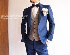Denim Wedding, Wedding Dress Men, Tuxedo Wedding, Wedding Suits, Modern Mens Fashion, Mens Fashion Suits, Grooms And Ushers, Jacket Dress, Men Dress