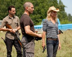 Rick, Shane and Andrea