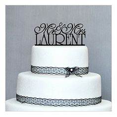 Cake Toppers Personalized Wood Cake Topper - USD $ 17.99