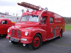 A former Cornwall County Fire Brigade Fire Engine built by Austin, is seen at the Cobham Bus Museum's Annual Spring Bus & Coach Gathering, at Wisley Airfield, on April Police Truck, Police Cars, Fire Dept, Fire Department, Panel Truck, Rescue Vehicles, Fire Apparatus, Emergency Vehicles, Commercial Vehicle