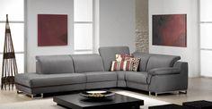 AVALON - Ce salon vous permet de modifier la largeur de votre salon comme vous le souhaitez, par pas de 20 cm, ainsi que le coloris, le choix des coutures, ...    Meubles Toff
