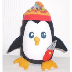 TESCO Cute Soft Toy Plush beanie Bottom Penguin Collectable Listing in the Other,Branded Soft Toys,Soft Toys & Animals,Toys & Hobbies Category on eBid United Kingdom | 147730106
