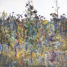 Fred Williamsm St Andrews (The Botanist's Garden), Oil on canvas, 101.5 x 101.5 cm