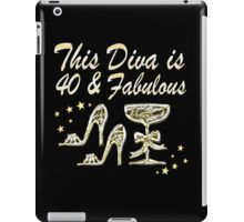 iPad Case/Skin http://www.redbubble.com/people/jlporiginals/collections/396192-40th-birthday #40thbirthday #40yearsold #Happy40thbirthday #40thbirthdaygift #40andfabulous #turning40